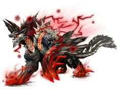 The Lord of Hell, Stygian Zinogre. 亜種