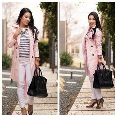 "Spotted while shopping on Poshmark: ""Pink trench coat""! #poshmark #fashion #shopping #style #Jackets & Blazers"