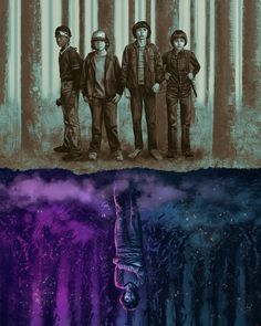 Stranger Things by Sam Gilbey - Home of the Alternative Movie Poster -AMP- Stranger Things Quote, Stranger Things Aesthetic, Stranger Things Season 3, Eleven Stranger Things, Stranger Things Netflix, Stranger Things Upside Down, Starnger Things, Photos Des Stars, Handy Wallpaper