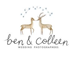 Ben & Colleen Photographers logotype by Julianna Swaney