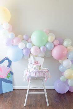 1st Birthday Girl Decorations, 1st Birthday Party Themes, Baby Girl 1st Birthday, Birthday Balloons, Happy 1st Birthdays, Family Photographer, Birthday Party Photography, Beaufort Bonnet, Nashville Tennessee