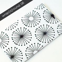 FREE printable black-and-white dandelion paper | Jessica Nielsen » wrap(a)round