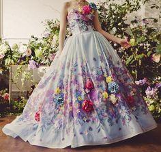 Stunning full layered fairytale frock.