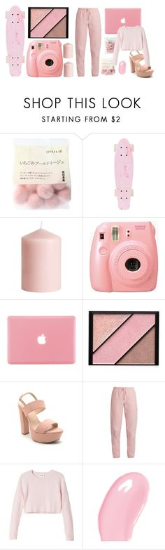 """""""Baby pink"""" by j-essx-f ❤ liked on Polyvore featuring H&M, Fujifilm, Elizabeth Arden, Qupid, Vetements, Monki and Christian Dior"""