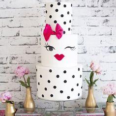 Cake by Sweet Bakes #KateSpadeInspired #sweetbakes_