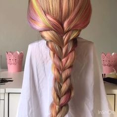 Do you wanna learn how to braid your own hair? Well, just visit our web site to seeing more amazing video tutorials! The post Mermaid Braid Tutorial! appeared first on Pinova - HairStyles Mermaid Braid Tutorials, Girl Hairstyles, Braided Hairstyles, Hairstyles 2018, Pretty Hairstyles, Curly Hair Styles, Natural Hair Styles, Braiding Your Own Hair, How To Braid Hair
