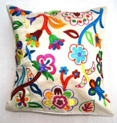 Floral pattern cushion covers - Gulshan | eBay
