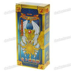 Card Captor Sakura The Clow Card 52 Set $2.50 free shipping, case color red/blue is random, measures about 3x1.5 in.