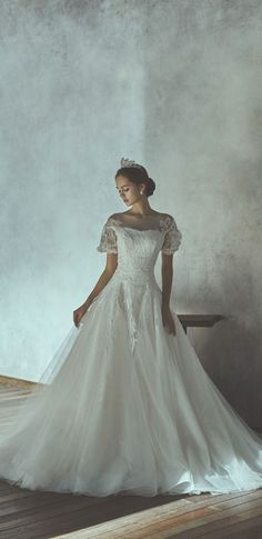wedding dress from Kim Sunjae Princess Wedding, Bride, Disney Princess, Wedding Dresses, Fashion, Wedding Bride, Bride Dresses, Moda, Bridal Gowns
