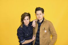 You asked the tough questions on life, love, and bathing suits — Cameron Esposito and Rhea Butcher answered. Cameron Esposito, Your Crush, Crush Crush, Lesbian Love, Butches, Partners In Crime, Tomboy Fashion, Androgynous, Woman Face