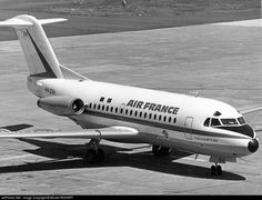 Air France (TAT) Fokker F28-1000 Fellowship