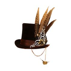 SD SM HAT 2.png ❤ liked on Polyvore featuring hats, steampunk, accessories and fillers