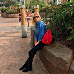 Lala Rudge @lalatrussardirudge #ootd #backpack ...Instagram photo | Websta (Webstagram)