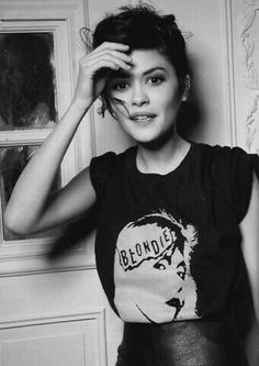 Audrey Tautou & Blondie