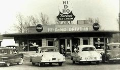 Hi - D- Ho Drive In. Lubbock Texas 1950. Buddy Holly use to play here. Stayed open until the 1970 tornado destroyed it.