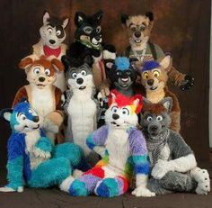 Pawsom group shot its not just the fursuit its making the group shot its pawsom