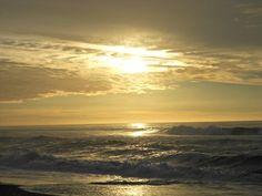 Wunderbarer Sonnenuntergang in Neuseeland