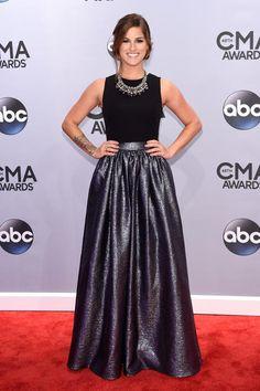 Cassadee Pope at the CMA Awards