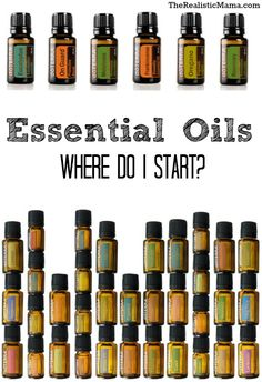 ESSENTIAL OILS: Getting started with Essential Oils