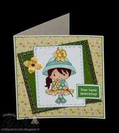 Crafty Card Crafts: Hope You're Feeling Better