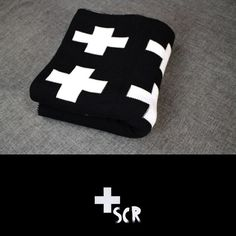 [ PRODUCT INFORMATION ] Nothing is quite as warm and comforting like a swiss cross blanket. Available in 2 sizes. Made of high quality cotton.