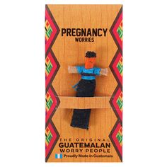 Pregnancy Worry Doll - Something Different Wholesale Red Company, Santa's Magic Key, Worry Dolls, Baby Hedgehog, Family Ornament, Mother And Baby, No Worries, How To Find Out, Maya