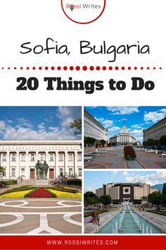 Pin Me - 20 Things to Do in Sofia Bulgaria