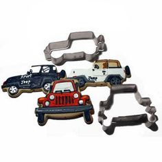 Gotta have this!!!   All Things Jeep - Exclusive Set of Two Cookie Cutters by All Things Jeep