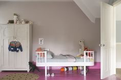 Three New Schemes For Children's Rooms And Nurseries - Modern