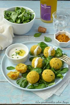 boulettes haricots blancs curry vegan