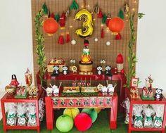 Kungfu panda themed party