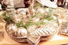 Silver & mercury glass