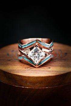 Western Wedding Rings, Western Rings, Western Engagement Rings, Cowgirl Wedding, Ring Engagement, Wedding Sets, Dream Wedding, Wedding Bands, Wedding Decor