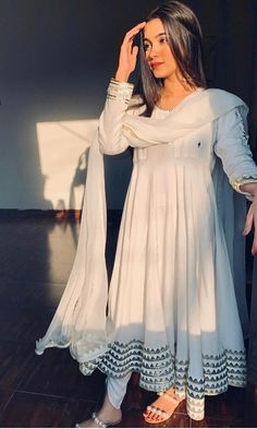 Order contact my whatsapp number 7874133176 You are in the right place about clothes for women ideas Here we offer you the most beautiful pictures about the clothes for women videos you are looking fo Simple Anarkali Suits, Simple Pakistani Dresses, Indian Gowns Dresses, Indian Fashion Dresses, Pakistani Dress Design, Indian Designer Outfits, Designer Dresses, Flapper Dresses, Salwar Suits