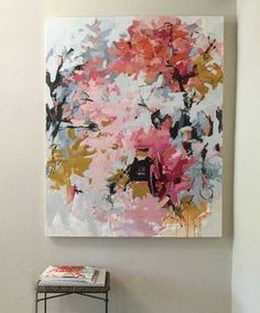 Box Blooms Summer in the city, window boxes become impromptu gardens.Window Box Blooms Summer in the city, window boxes become impromptu gardens. Abstract Flowers, Abstract Art, Paintings I Love, Painting Inspiration, Diy Art, Flower Art, Modern Art, Art Projects, Art Photography
