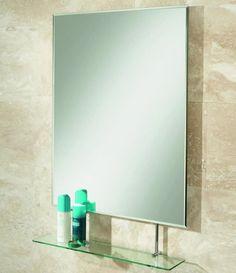 Hib Tapio Bathroom Mirror With Shelf Uk Bathrooms