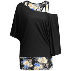 Dolman Sleeve Floral Plus Size Top ($16) ❤ liked on Polyvore featuring tops, women's plus size tops, dolman sleeve tops, floral tops, plus size floral tops and flower print tops
