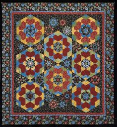 Folk Hearts. Quilt from Doubledipity: More Serendipity Quilts by Sara Nephew