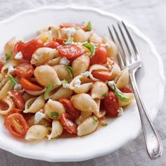 shells with roasted tomatoes