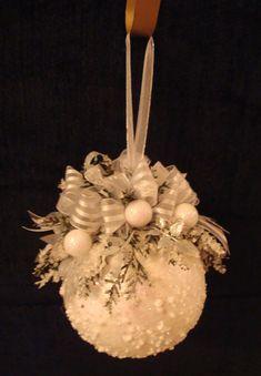 Snow ornament: