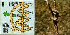 ロープの結び方09