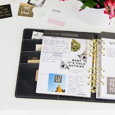 5 Ways to embellish your 2018 Heidi Swapp planner by @createoften for @heidiswapp