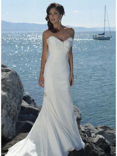 sleeveless-casual-beach-wedding-dresses.jpg (600×800)