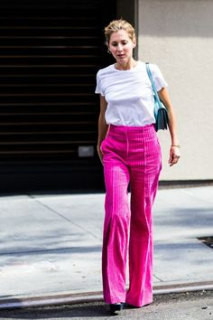 The Return of Corduroy Trousers   Blue is in Fashion this Year   Bloglovin'