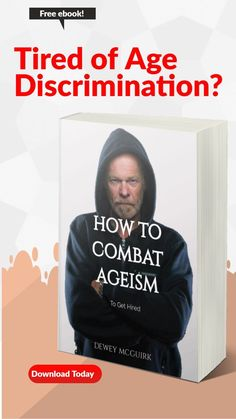 When you are over 45 years old, it can be frustrating to apply for a job and not get an interview. Learn why you are not getting hired, and how to fix it. In this free guide to fighting ageism, I… Job Hunting Tips, Best Careers, Free Ebooks, 45 Years, How To Apply, Age, Learning, Interview, Studying