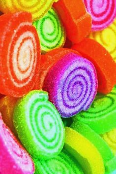 ~ Rainbow of Colours Neon Colors, Rainbow Colors, All The Colors, Vibrant Colors, Taste The Rainbow, Over The Rainbow, World Of Color, Color Of Life, Rainbow Candy