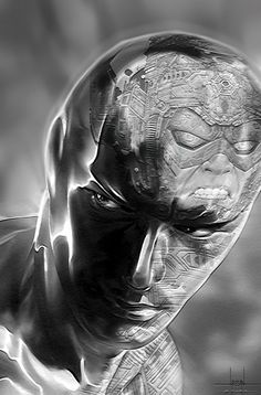 Silver Surfer and Galactus Ms Marvel, Marvel Comics Art, Marvel Heroes, Anime Comics, Marvel Comic Character, Comic Book Characters, Marvel Characters, Comic Books Art, Comic Art
