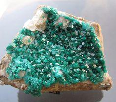 "Large Dioptase Specimen Altyn Tube Kazakhstan 3 5"" | eBay"