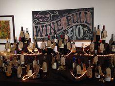 Western wine pull display