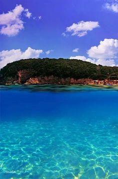 Voutoumi beach, Antipaxos island ~ Greece
